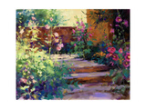 Summer Path Premium Giclee Print by Julie G. Pollard