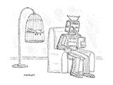 Captionless - New Yorker Cartoon Premium Giclee Print by Robert Mankoff