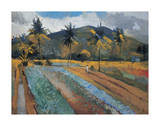 Cabbage Patch Premium Giclee Print by Boscoe Holder