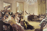 The Concert Giclée-Druck von James Tissot