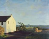 Irish Cottage Lane Giclee Print by Hugh O'neill
