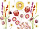 Floral Fantasy II Giclee Print by Ingrid Van Den Brand