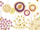 Floral Fantasy I Giclee Print by Ingrid Van Den Brand
