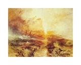 The Slave Ship Premium Giclee Print by J. M. W. Turner