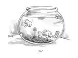 """No!"" - New Yorker Cartoon Premium Giclee Print by Shannon Wheeler"