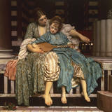 The Music Lesson Giclee Print by Frederick Leighton