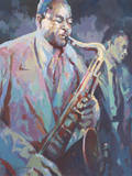 Sax Man Giclee Print by Trevor Waugh