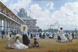 Brighton Beach, Coney Island Giclee Print by Alan Maley