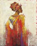 Ashanti Giclée-tryk af Karen Dupré