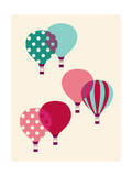Hot Air Balloon Giclee Print