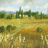 Summer Villa Giclee Print by Hazel Barker