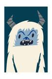 Bavarian Snowmonster Giclee Print