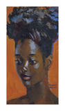 Upsweep Hairdo Premium Giclee Print by Boscoe Holder
