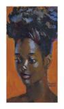 Upsweep Hairdo Premium Giclee Print by Boscoe Holder