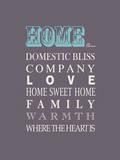 Home is Cool Reproduction procédé giclée par Sasha Blake