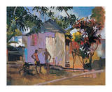 Moraldo Road Premium Giclee Print by Boscoe Holder