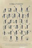 Semaphore Giclee Print by Ken Hurd