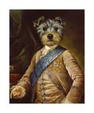 Le Petit Prince Dauphin Giclee-tryk i høj kvalitet af Thierry Poncelet