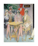 The Cairo Bar, 1920 Premium Giclee Print by Kees van Dongen