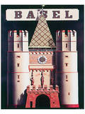 Basel Poster by Niklaus Stoecklin