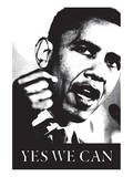Barack Obama, Yes We Can Prints