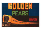 Golden Limited Brand Pears Art