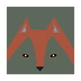 Fox Face Giclee Print