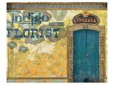 Indigo Florist Posters