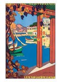 L'Ete Sur La Cote d'Azur Posters by Guillaume Roger
