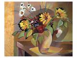 French Floral Print by Warren Cullar