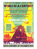 World's Fair, Chicago, Wings of a Century, c.1934 Posters