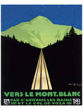 Vers Le Mont Blanc Posters by Georges Dorival