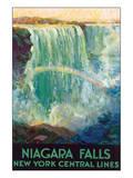 Niagara Falls Print by Frederic Madan