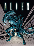 Alien - Tunnel Masterprint