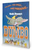 Dumbo - The Fabulous Wood Sign Träskylt
