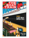 New Boat Train, Sunday on The Open Sea Prints by Charles Holmes W.