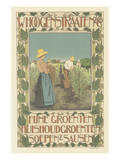 W. Hoogenstraaten & Co.: Fine Vegetables, Cooking Greens, Soups And Sauces Posters