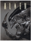 Alien - Head on Tail Masterprint