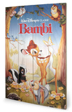 Bambi Znak drewniany