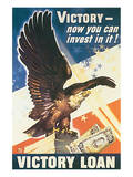 Victory - Now You Can Invest In It! 1945 Kunstdruck von Dean Cornwell