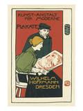 Wilhelm Hoffman, Printers of Modern Posters, Dresden Art by Otto Fischer