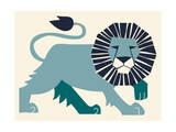 Lion Giclee Print