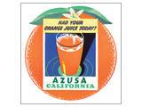 Azusa, Callifornia Posters