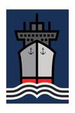 Ship Yard Giclee Print