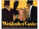 Weidenhof Casino Prints by Ernst Lubbert