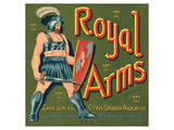Royal Arms Brand Citrus Posters