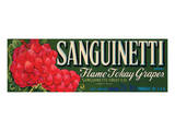 Sanguinetti Brand Flame Tokay Grapes Prints