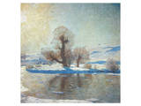 Winter Landscape Art by Eugen Bracht