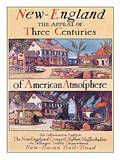 New England, The Appeal of Three Centuries of American Atmosphere Poster