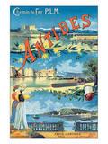 Antibes, Chemin de Fer P.L.M. Prints